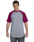 Alpha Broder 423 50/50 Short-Sleeve Raglan T-Shirt