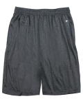 "Alpha Broder 4319 Adult Heathered 10"" Performance Shorts"