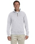 Alpha Broder 4528 Adult 9.5 Oz. Super Sweats® Nublend® Fleece Quarter-Zip Pullover