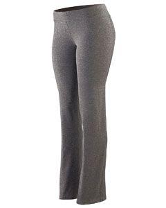 Alpha Broder 4814 Ladie's Wide Waist Brushed Back Polyester/Spandex Pant