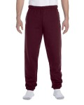 Alpha Broder 4850P Adult 9.5 Oz. Super Sweats® Nublend® Fleece Pocketed Sweatpants