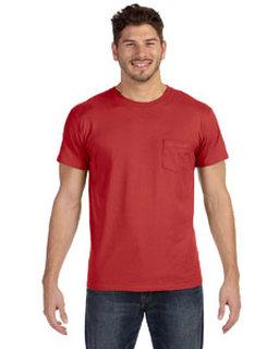 Alpha Broder 498P 4.5 Oz., 100% Ringspun Cotton Nano-T® T-Shirt With Pocket