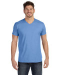 Alpha Broder 498V 4.5 Oz., 100% Ringspun Cotton Nano-T® V-Neck T-Shirt
