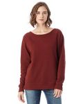 Alpha Broder 5068BT Ladie's Reversible Scrimmage Vintage French Terry Pullover