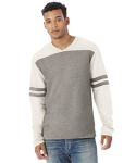 Alpha Broder 5077BT Men's French Terry Trainer L/S Pullover