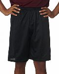 "Alpha Broder 5109 Adult Mesh/Tricot 9"" Shorts"
