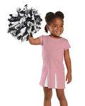 Alpha Broder 5303 Toddler Jersey Cheer Dress