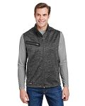 Alpha Broder 5317 Compass Bonded Melange Sweater Fleece Vest