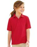 Alpha Broder 537YR Youth 5.3 Oz. Easy Care™ Polo