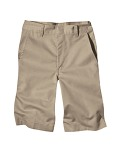 Broder Bros. 54362 7.5 oz. Boy's Flat Front Short
