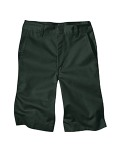 Broder Bros. 54562 7.75 oz. Boy's Flat Front Short