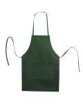 Alpha Broder 5502 Caroline Al2b Butcher Style Cotton Twill Apron Forest