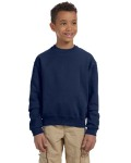 Alpha Broder 562B Youth 8 Oz. Nublend® Fleece Crew