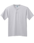 Alpha Broder 644 Six-Ounce Two-Button Baseball Jersey-Youth