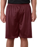 "Alpha Broder 7207 Adult Mesh/Tricot 7"" Shorts"
