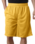 "Alpha Broder 7219 Adult Mesh/Tricot 9"" Shorts With Pockets"