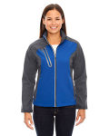 Alpha Broder 78176 Ladie's Terrain Colorblock Soft Shell With Embossed Print