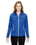 Alpha Broder 78806 Ladie's Cadence Interactive Two-Tone Brush Back Jacket