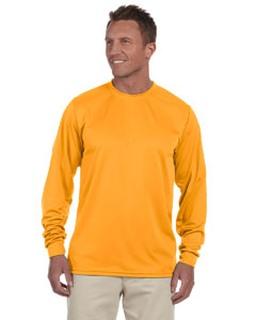 Alpha Broder 788 100% Polyester Moisture-Wicking Long-Sleeve T-Shirt