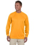 Alpha Broder 788 100% Polyester Moisture-Wicking Long-Sleeve T-Shirt