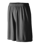 Alpha Broder 814 Youth Longer Length Wicking Short with Pockets