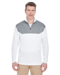 Alpha Broder 8233 Adult Cool & Dry Sport Color Block 1/4-Zip Pullover