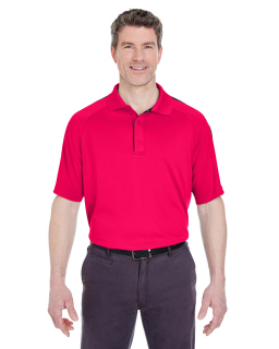Alpha Broder 8409 Adult Cool & Dry Sport Shoulder Block Polo
