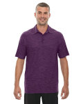 Alpha Broder 88668 Men's Barcode Performance Stretch Polo