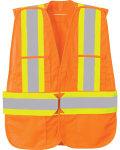 Alpha Broder 88709 5-Point Tear Away Safety Vest