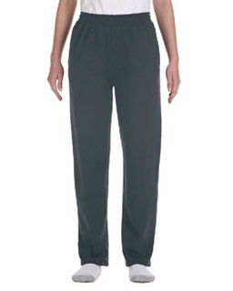 Alpha Broder 974Y Youth 8 Oz., 50/50 Nublend? Open-Bottom Sweatpants