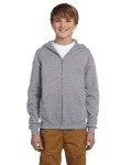 Alpha Broder 993B Youth 8 Oz. Nublend® Fleece Full-Zip Hood