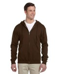Alpha Broder 993 Adult 8 Oz. Nublend® Fleece Full-Zip Hood