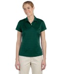 Alpha Broder A162 Ladie's Climalite Textured Short-Sleeve Polo