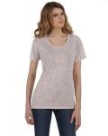 Alpha Broder AA2620 Ladie's Kimber Melange Burnout T-Shirt