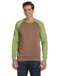 Alpha Broder AA3202 Unisex Champ Eco-Fleece Colorblocked Sweatshirt