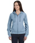 Broder Bros. B7007 Ladies' Fleece Full-Zip Raglan Hoodie