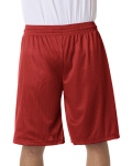 "Alpha Broder B7211 Adult Mesh/Tricot 11"" Shorts"