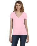 Alpha Broder B8410 Ladies' Sheer Jersey Double-V T-Shirt