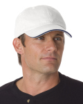 Alpha Broder BA3617 100% Washed Cotton Unstructured Sandwich Cap