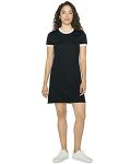 Alpha Broder BB3274W Ladie's Poly-Cotton Ringer T-Shirt Dress