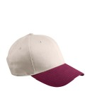 Alpha Broder BX002 6-Panel Brushed Twill Structured Cap