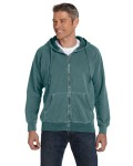 Broder Bros. C1563 10 oz. Garment-Dyed Full-Zip Hood