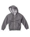 Alpha Broder C7755 Youth 10 Oz. Garment-Dyed Full-Zip Hooded Sweatshirt
