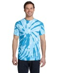 Alpha Broder CD110 5.4 Oz., 100% Cotton Twist Tie-Dyed T-Shirt