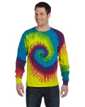 Alpha Broder CD2000 5.4 Oz., 100% Cotton Long-Sleeve Tie-Dyed T-Shirt
