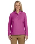 Alpha Broder D110W Ladie's Pima Pique Long-Sleeve Polo