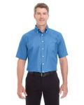 Alpha Broder D620S Men's Crown Collection™ Solid Broadcloth Short-Sleeve Shirt