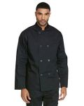 Alpha Broder DC45 Unisex Classic 8 Button Chef Coat