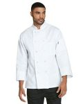 Alpha Broder DC47 Unisex Classic 10 Button Chef Coat
