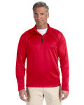 Alpha Broder DG440 Men's Stretch Tech-Shell? Compass Quarter-Zip